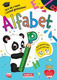 Alfabet - Wydawnictwo MARTEL | Świat Kolorowanek