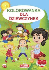 Kolorowanki seria NIEBIESKA | Dla Dziewczynek - Wydawnictwo MARTEL | Świat Kolorowanek