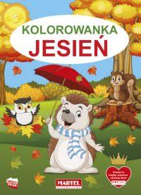 Kolorowanki seria NIEBIESKA | Jesień - Wydawnictwo MARTEL | Świat Kolorowanek