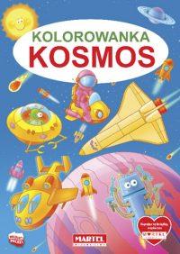 Kolorowanki seria NIEBIESKA | Kosmos - Wydawnictwo MARTEL | Świat Kolorowanek