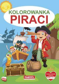 Kolorowanki seria NIEBIESKA | Piraci - Wydawnictwo MARTEL | Świat Kolorowanek