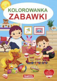 Kolorowanki seria NIEBIESKA | Zabawki - Wydawnictwo MARTEL | Świat Kolorowanek