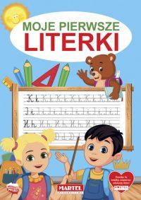 Kolorowanki seria NIEBIESKA | Literki - Wydawnictwo MARTEL | Świat Kolorowanek