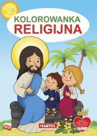 Kolorowanki seria NIEBIESKA | Religijna - Wydawnictwo MARTEL | Świat Kolorowanek