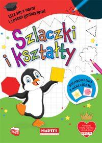 Szlaczki i ksztalty - Wydawnictwo MARTEL | Świat Kolorowanek